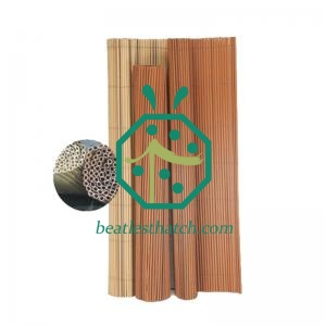 House Wall Background Plastic Reed Rolling Mat